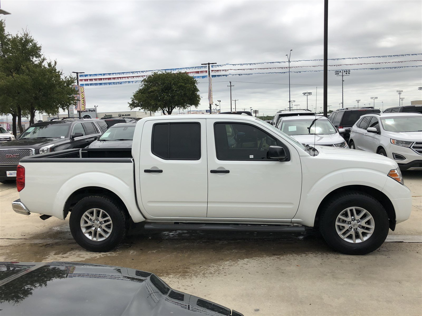 Pre Owned 2016 Nissan Frontier Sv Crew Cab Pickup In San Antonio Front Airbag Sensor 2002 Xterra
