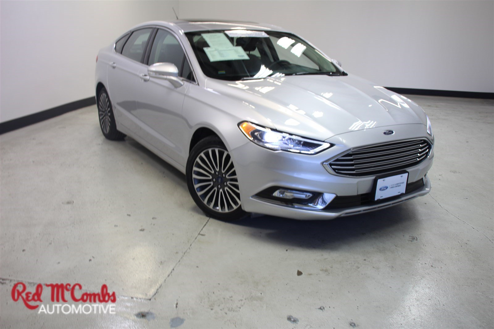 Pre owned 2018 ford fusion platinum