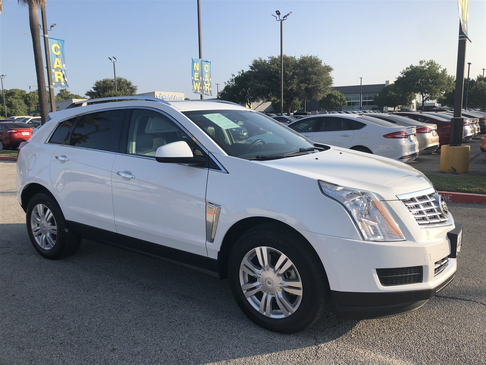Pre Owned 2016 Cadillac SRX Luxury Collection Sport Utility in San