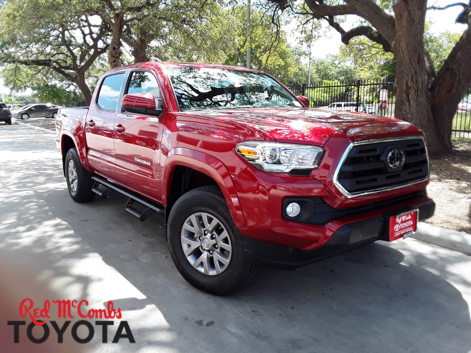 New 2018 Toyota Tacoma Sr5 Double Cab In San Antonio 832999 Long Bed Fuel Hostage Wheels