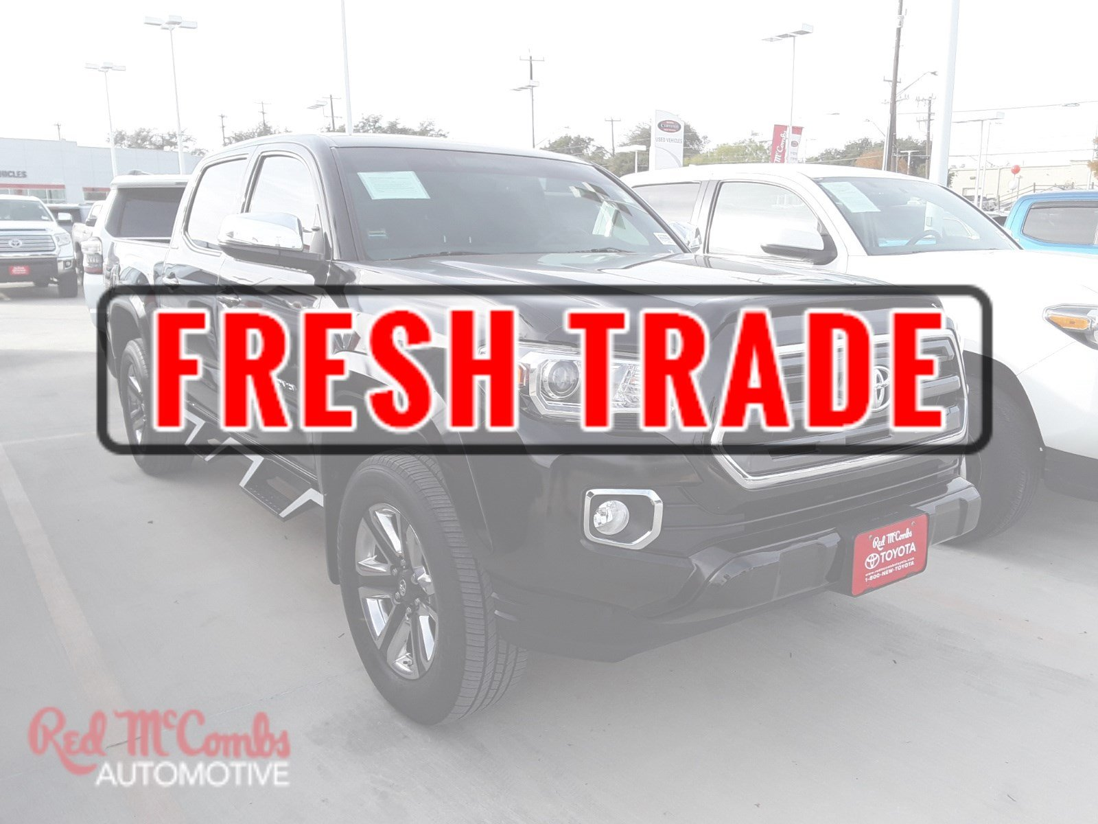 Pre Owned 2016 Toyota Ta a Limited Crew Cab Pickup in San Antonio