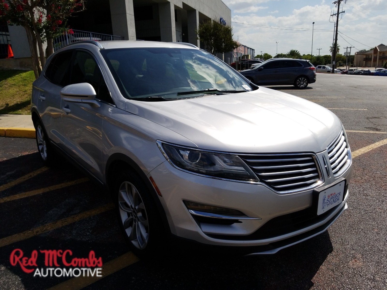 Pre-Owned 2015 Lincoln MKC Sport Utility in San Antonio #68557 | Red ...