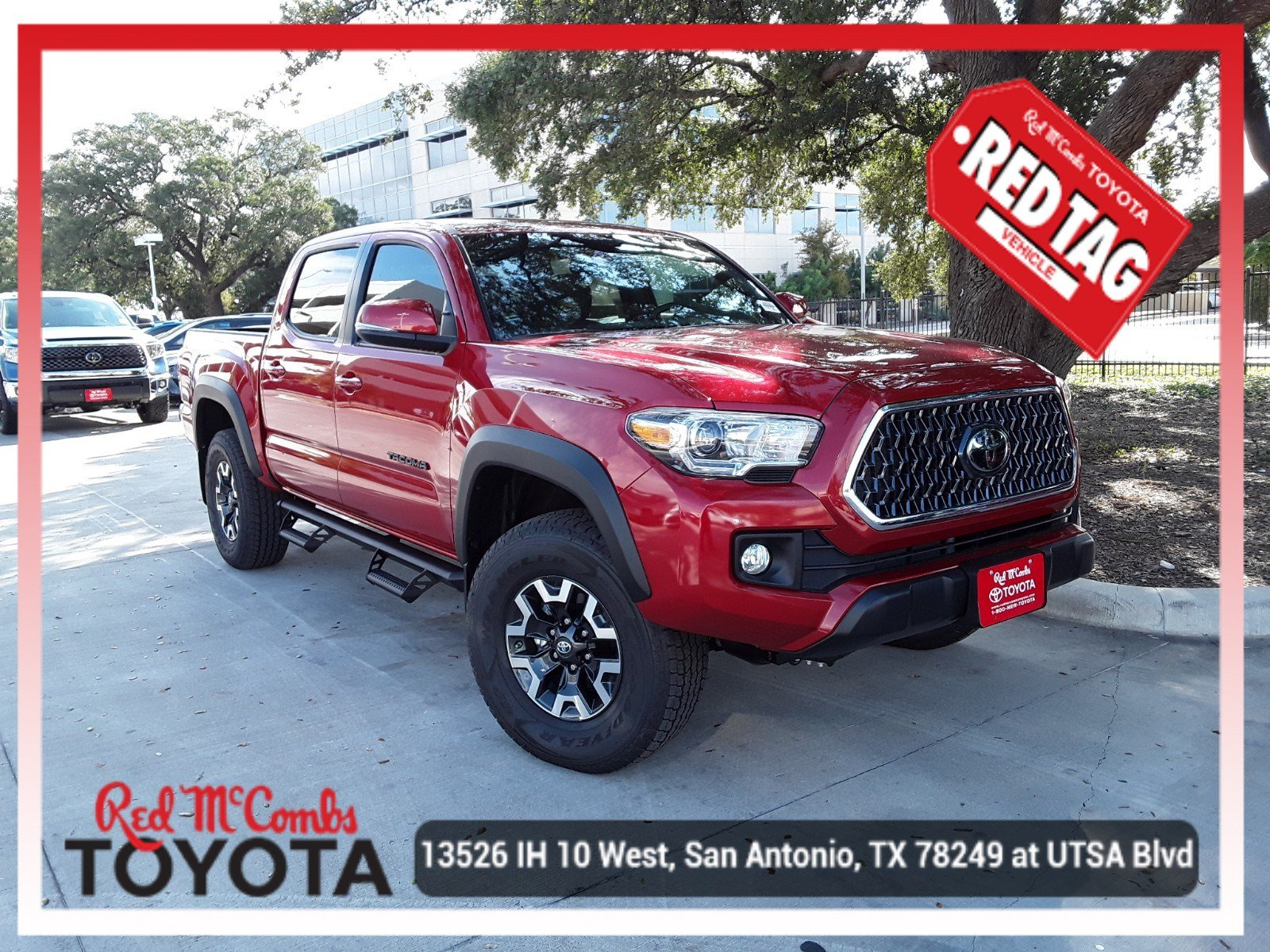 New 2019 Toyota Tacoma Trd Offrd Trd Off Road Double Cab In San