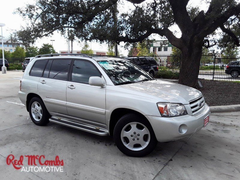 Delightful Pre Owned 2007 Toyota Highlander Limited W/3rd Row