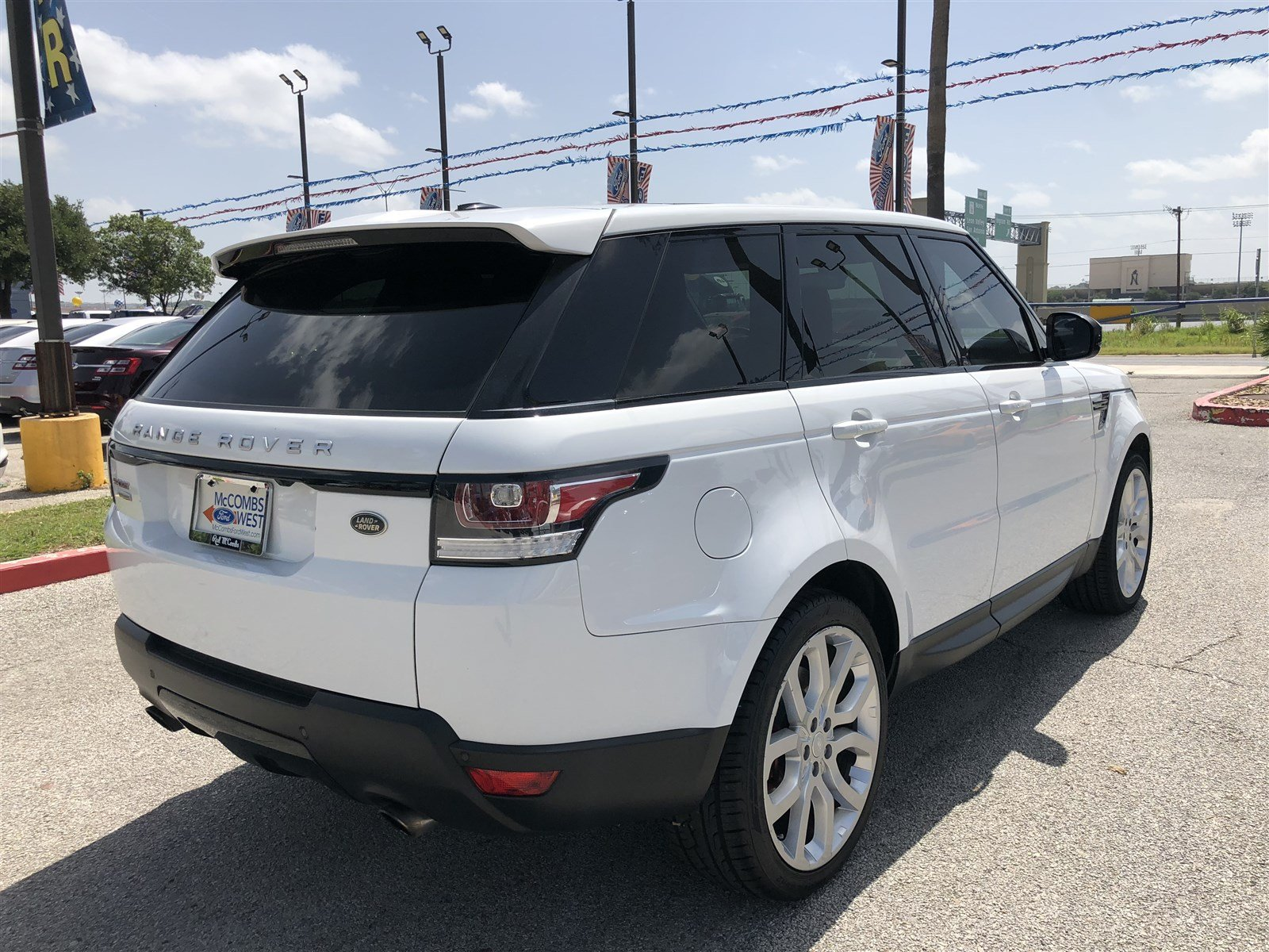 Pre Owned 2015 Land Rover Range Rover Sport Supercharged Sport