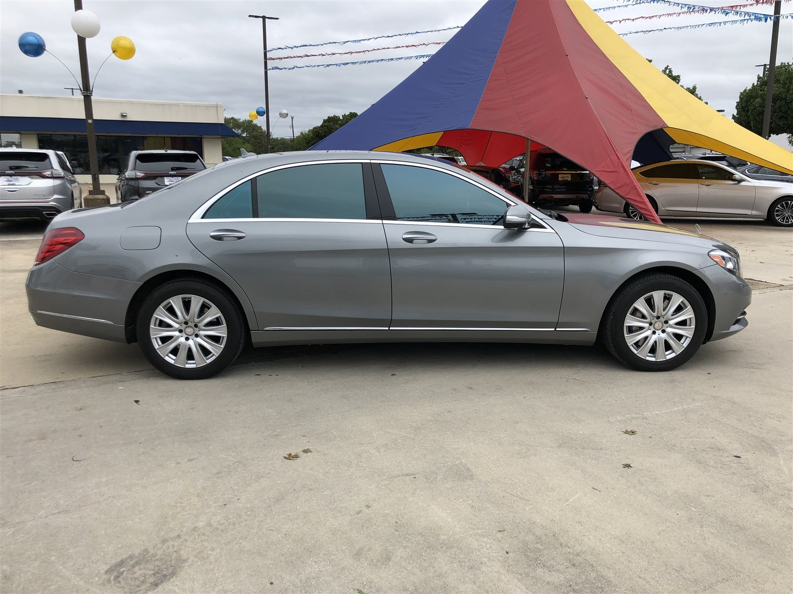Pre Owned 2015 Mercedes Benz S Class S 550 Sedan in San Antonio