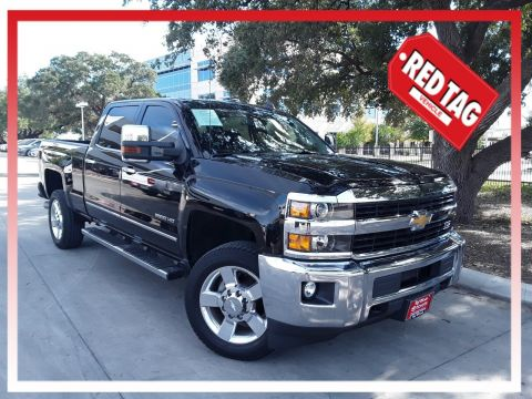 Pre-Owned 2016 Chevrolet Silverado 2500HD LTZ Z71