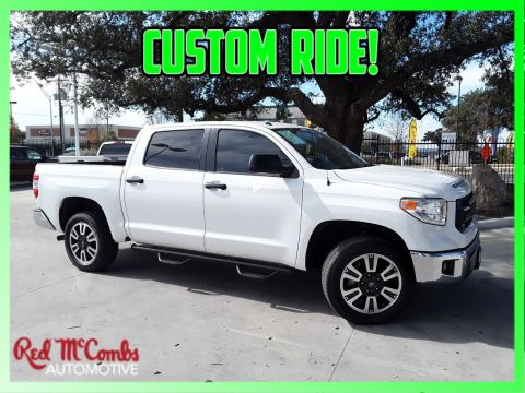 Pre Owned 2017 Toyota Sr5 4wd Crew Cab Pickup