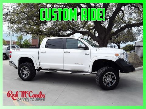 Pre Owned 2017 Toyota Limited Trd Off Road Crew Cab Pickup 4wd